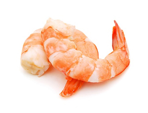 Shrimp - Steamed or Boiled Salad - 334 Calories